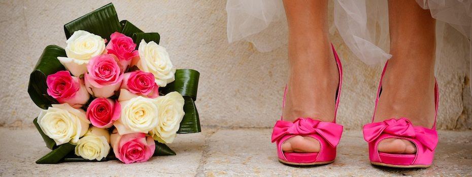 Chaussures-fuschia