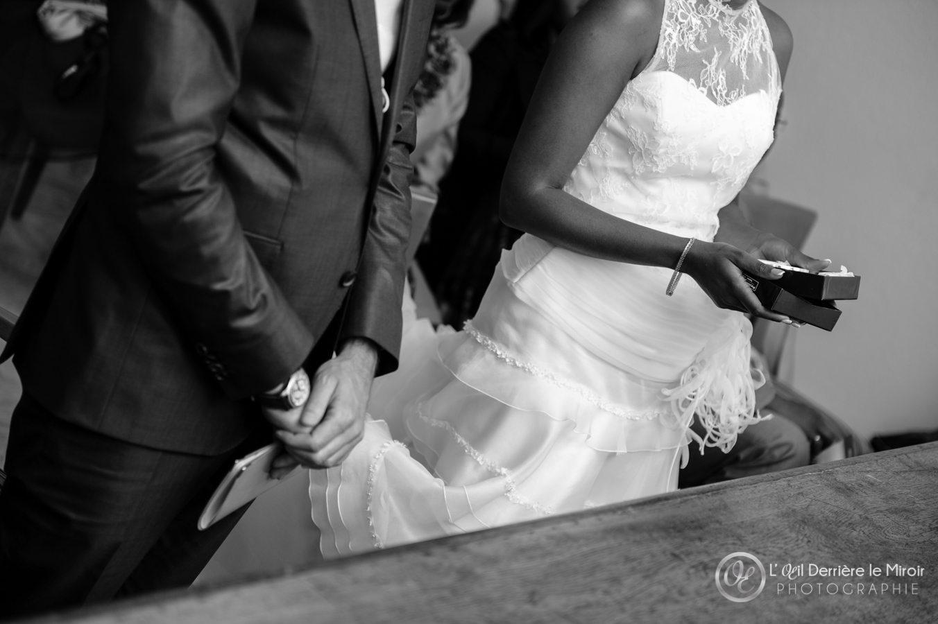 Photos de mariage à la mairie de Mougins par L'OEil Derrière le Miroir