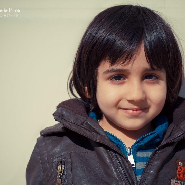 Portrait photo d'enfant : Yassin