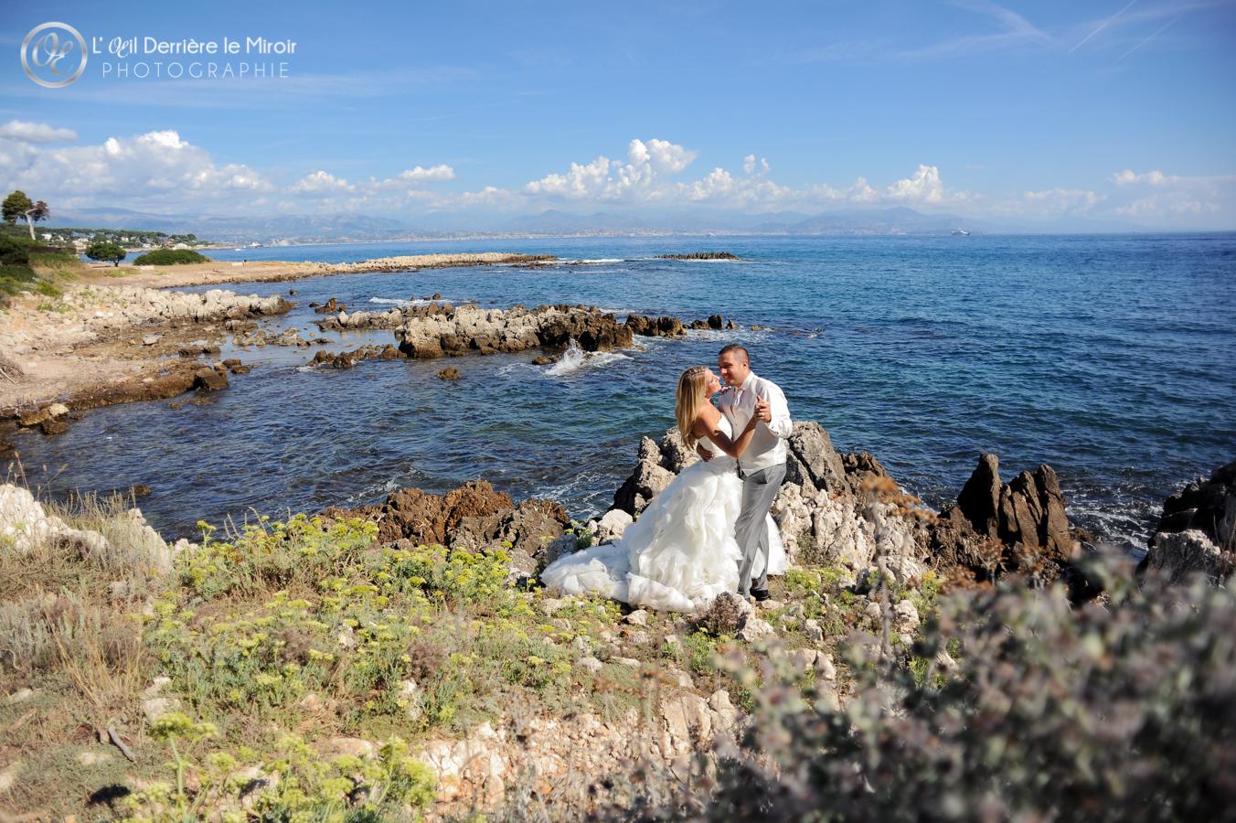Photographe de mariage Cote d'Azur L'OEil Derrière le Miroir