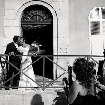 Mariage à Vence par L'OEil Derrière le Miroir Photographie | Corinne & José