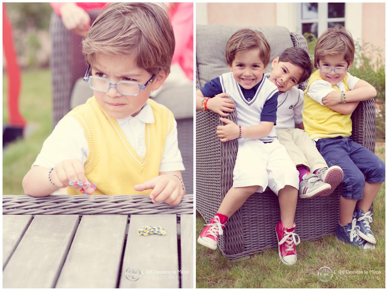 L'OEil Derrière le Miroir Photographe enfants