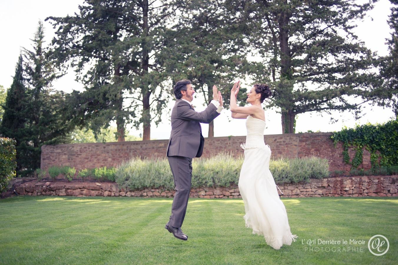 Photographe mariage Var L'OEil Derrière le Miroir