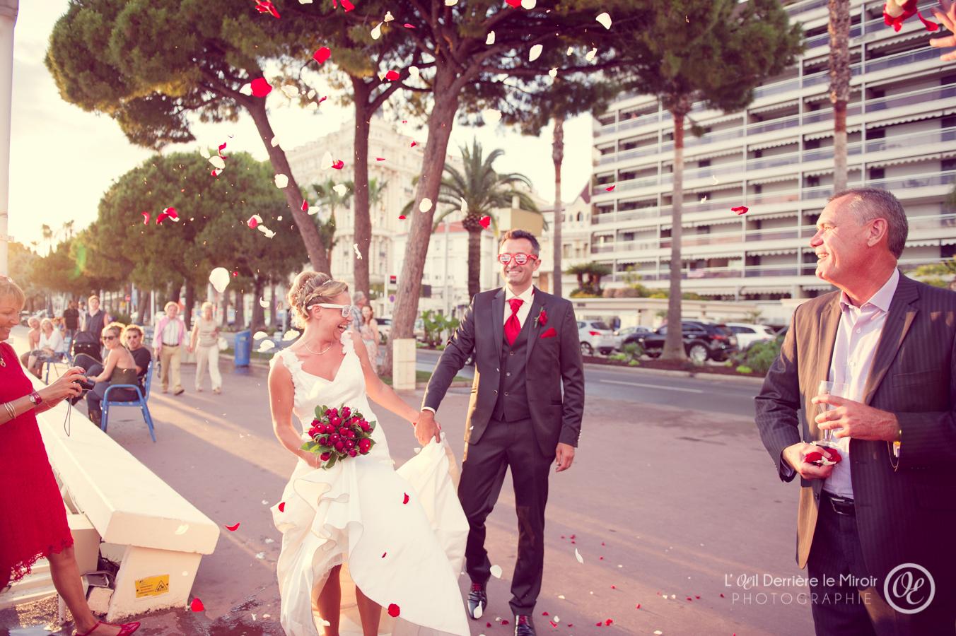Photographe de mariage à Grasse Cannes L'OEil Derrière le Miroir