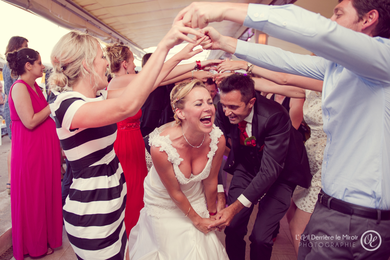 Photographe mariage Cannes  L'OEil Derrière le Miroir