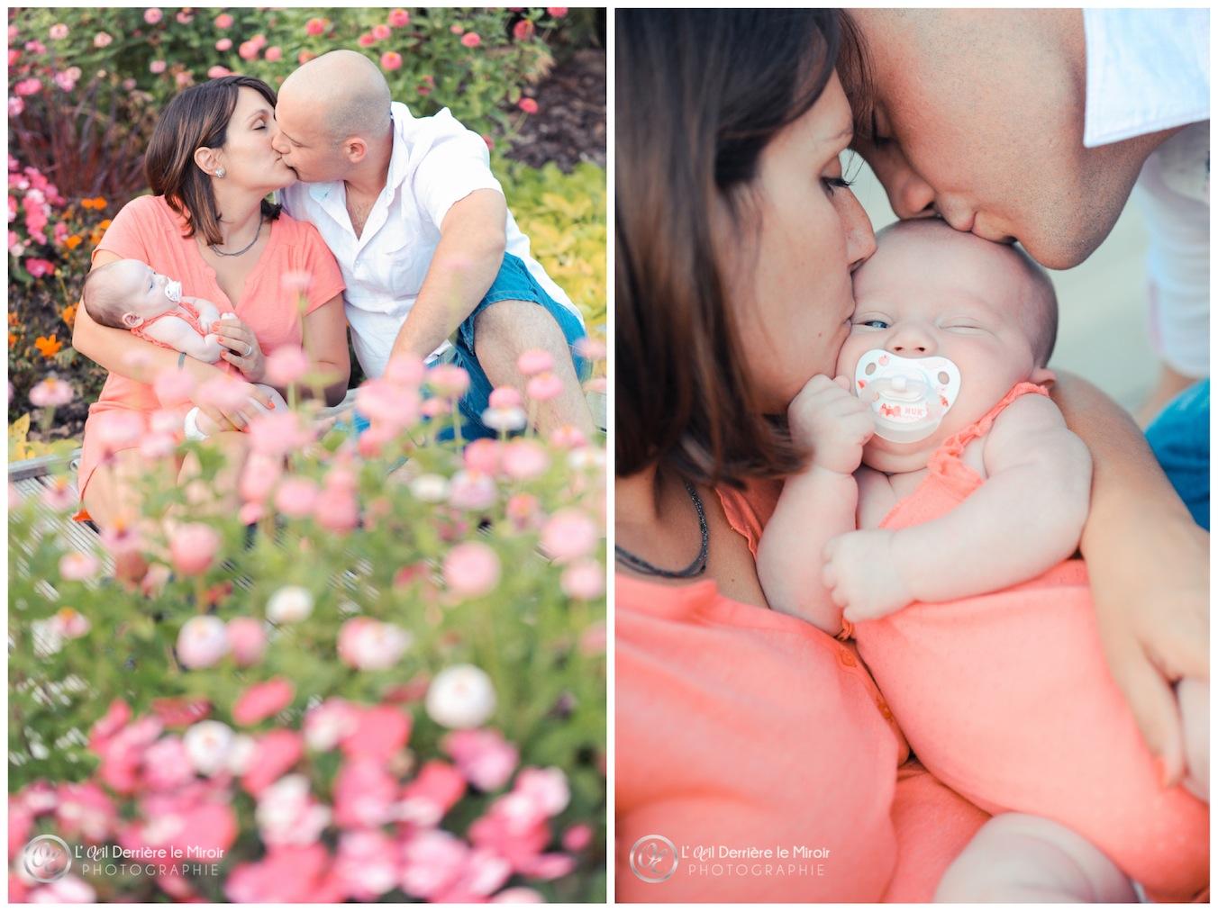 Photographe famille naissance 06