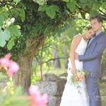 Photographe de mariage à grasse