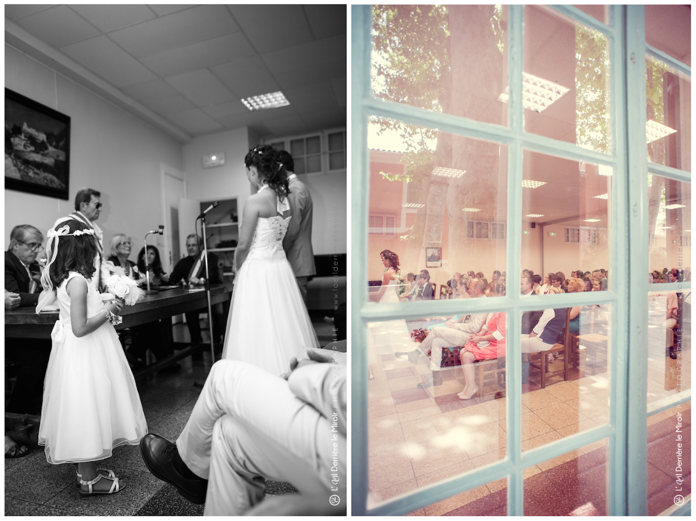 Mariage Saint André de la Roche Photographe de mariage L'OEil Derrière le Miroir