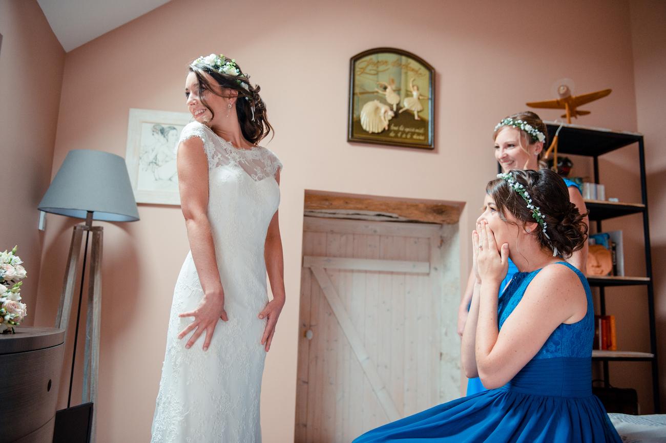 Photographe de mariage à Paris et Seine et Marne, Préparatifs de la mariée