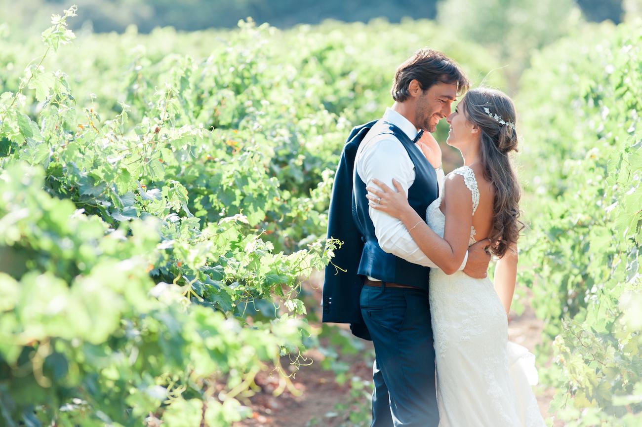 Photographe mariage chateau du font du broc var