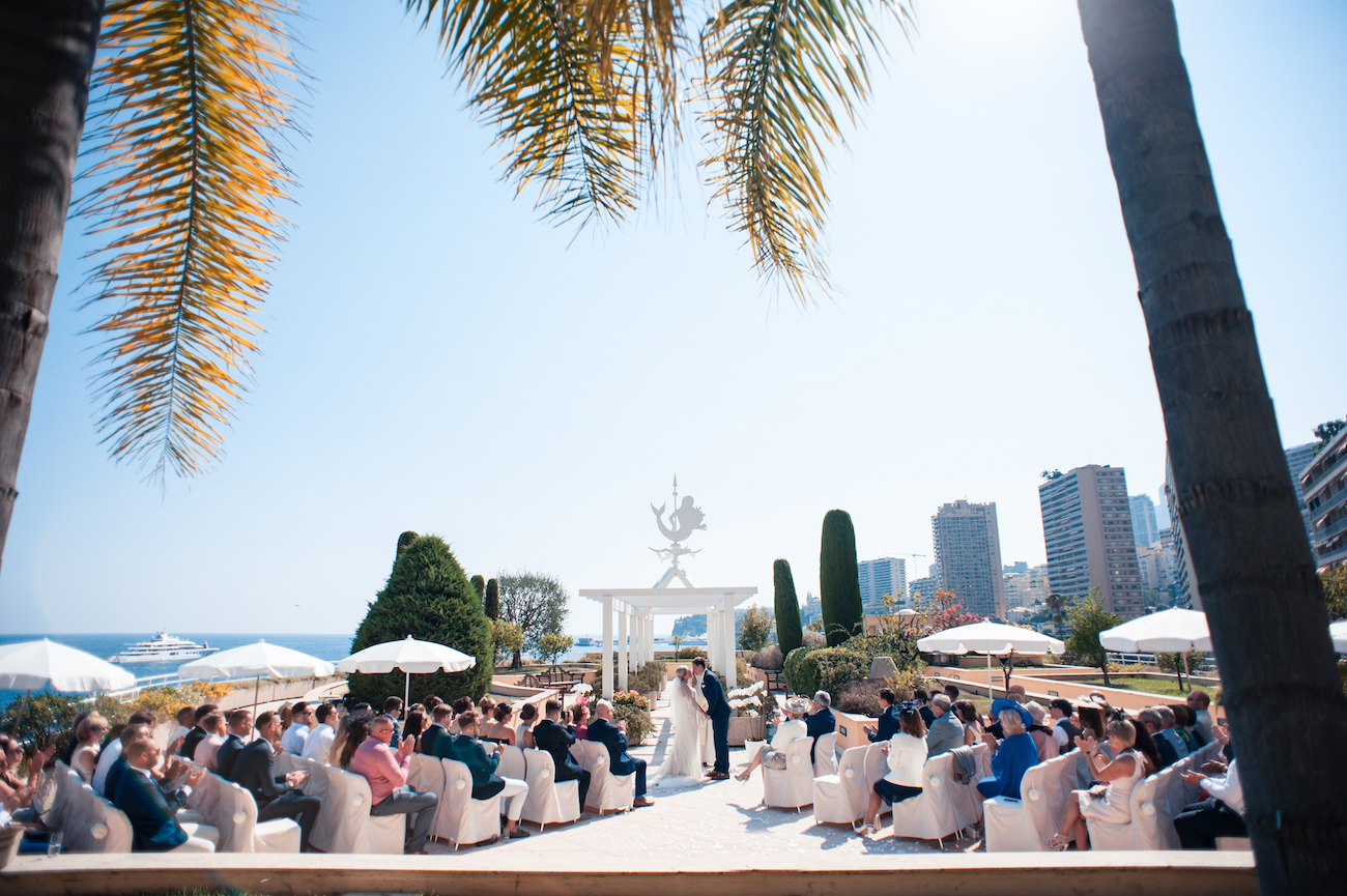 Photographe de mariage monaco Le Méridien Wedding photographer