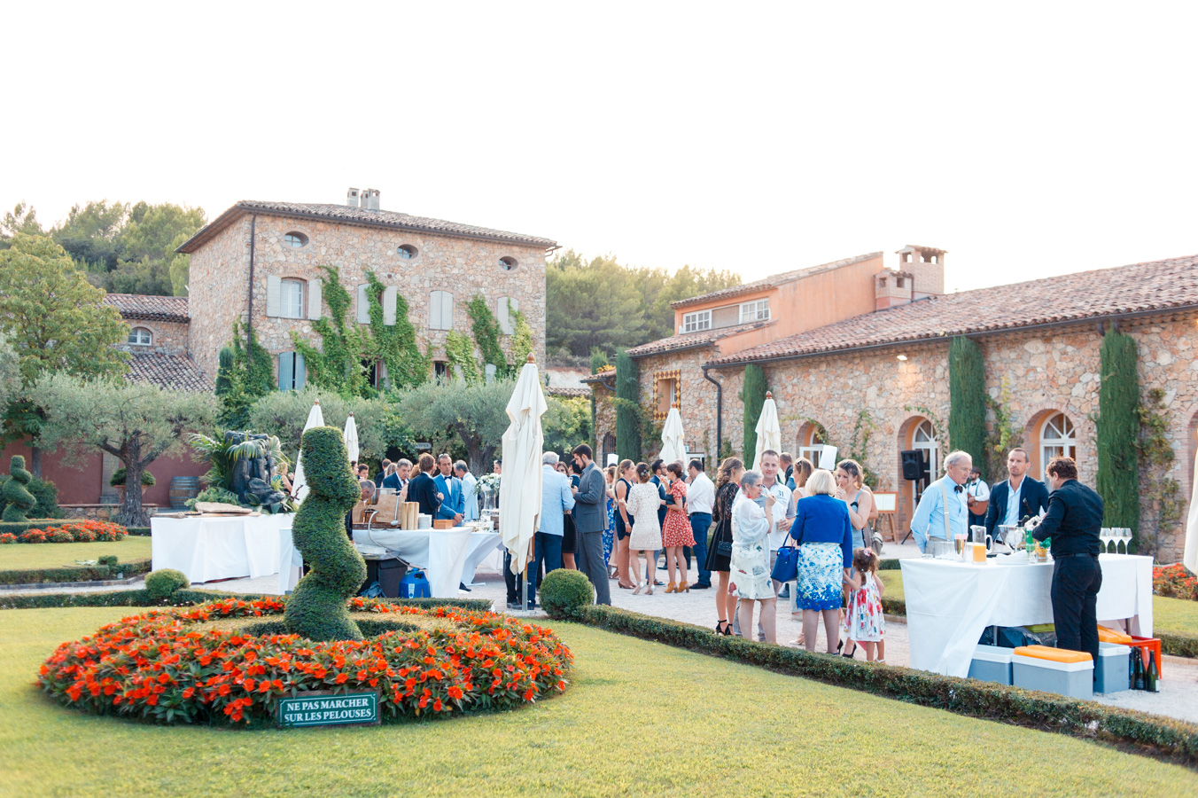 Wedding in Provence Chateau Font du Broc