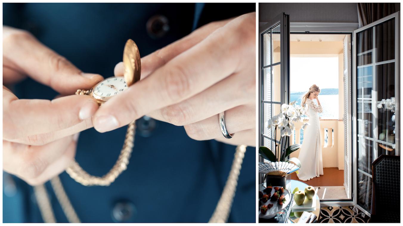 Montre à gousset marié - préparatif du marié - photographe mariage