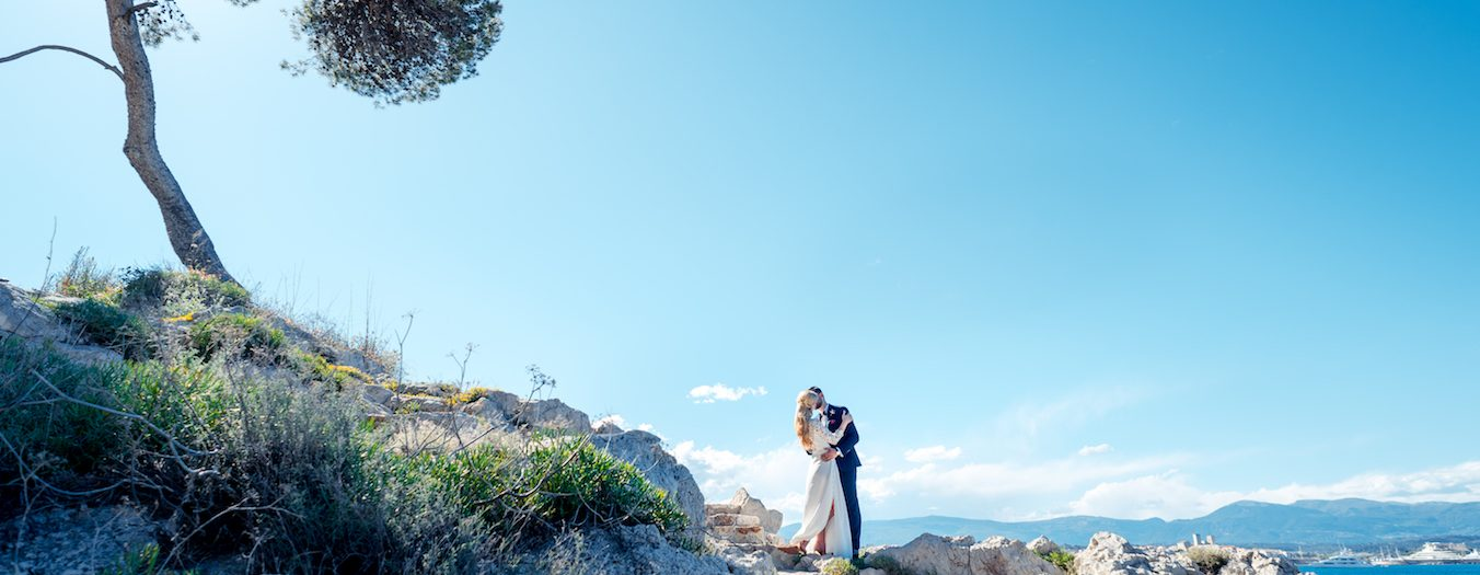 Antibes Wedding at Belles Rives ••• Mariage au Belles Rives