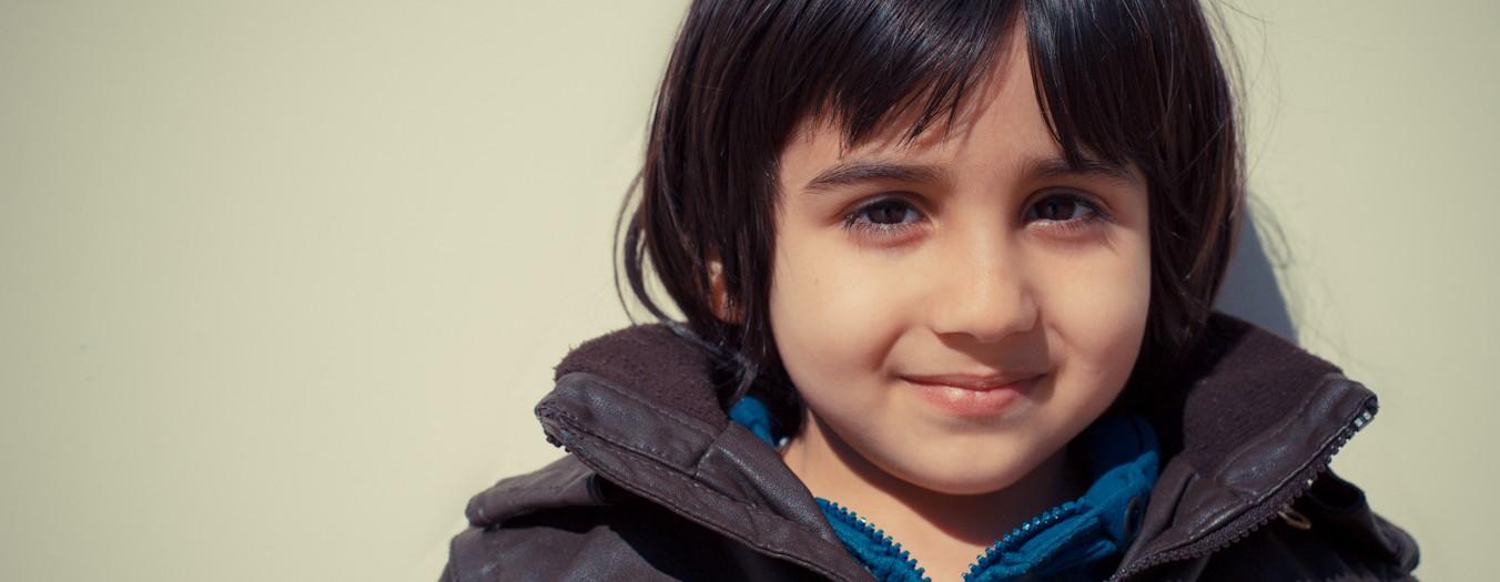 Portrait photo d'enfant : Yassin