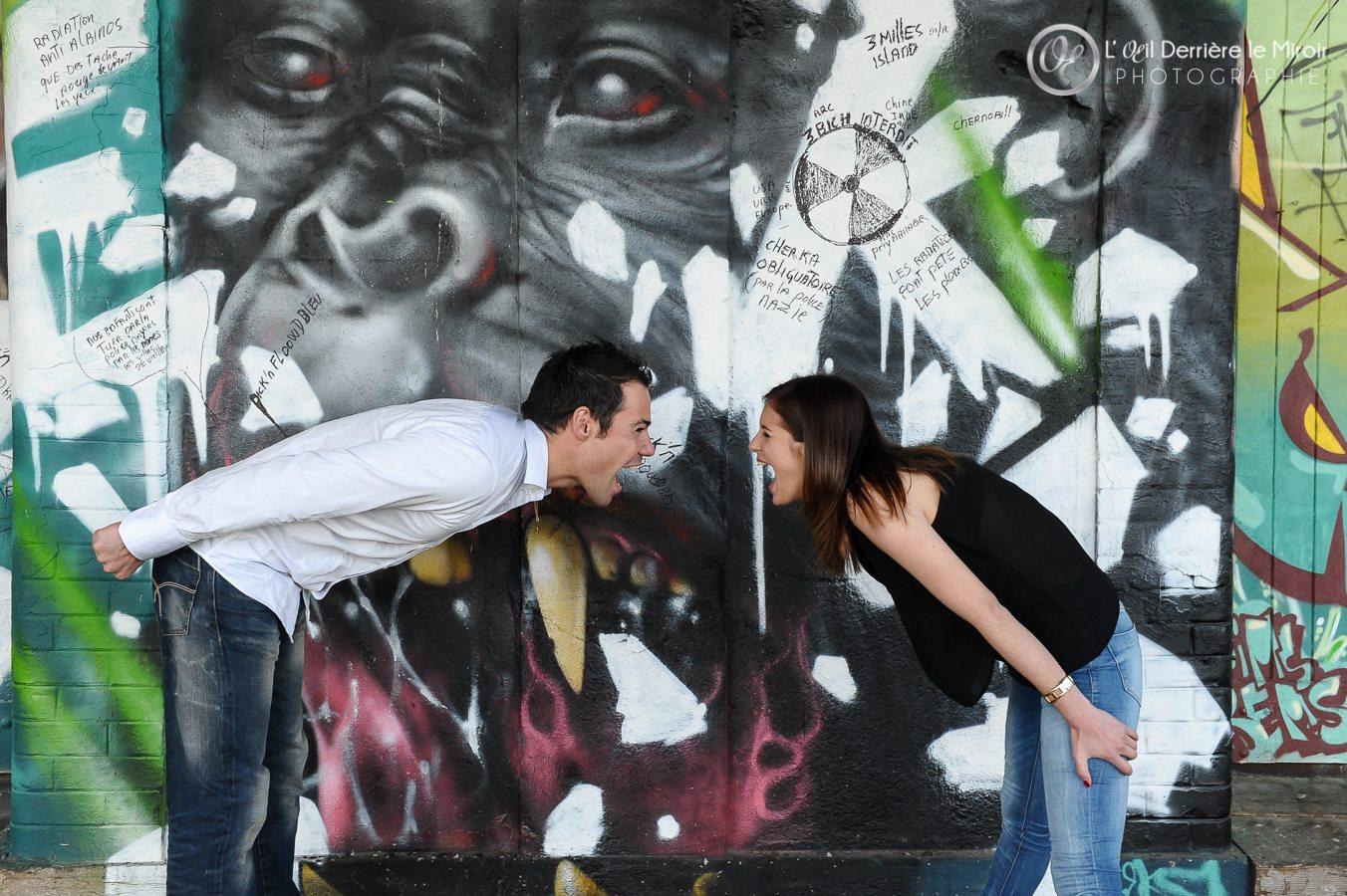 Photo de Couple par L'OEil Derriere le Miroir Photographe de couple