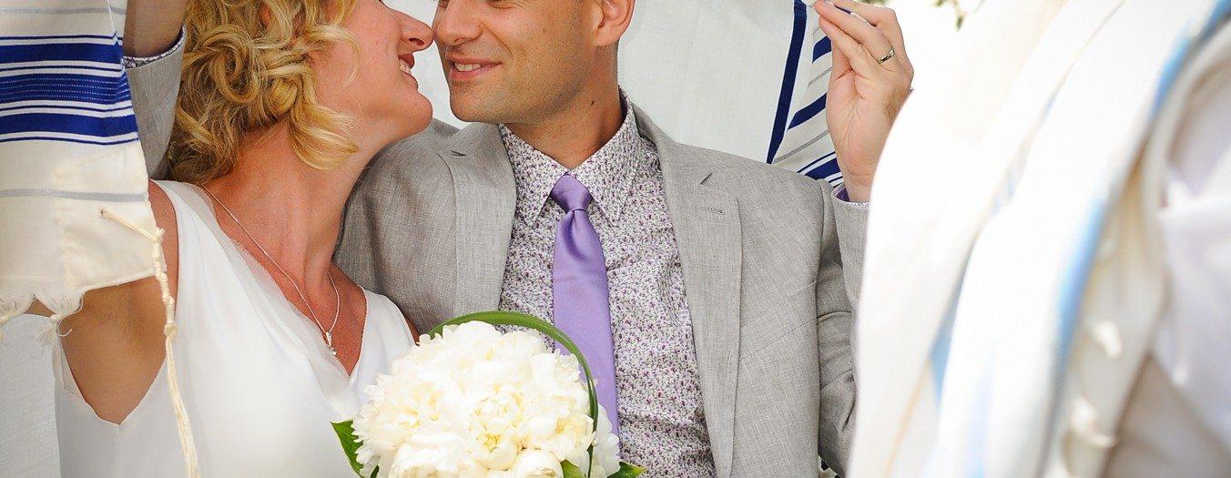 Magnifique cérémonie de Mariage juif avec Larissa & Fabien