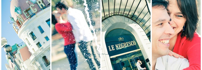 Photographe de couple à Nice avec Sophie & Gael from Luxembourg !
