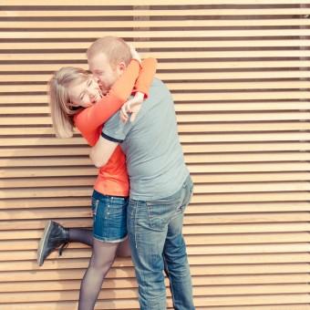 Séance photo de couple à Nice par L'OEil Derrière le Miroir Photographie | Amélie & Jérôme