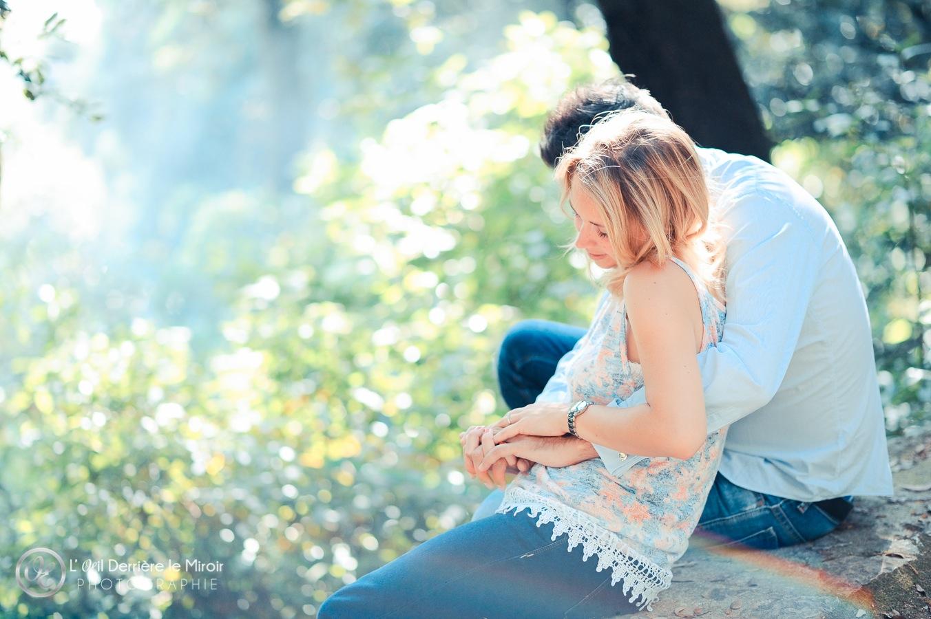 Photographe Couple Grasse L'OEil Derrière le Miroir