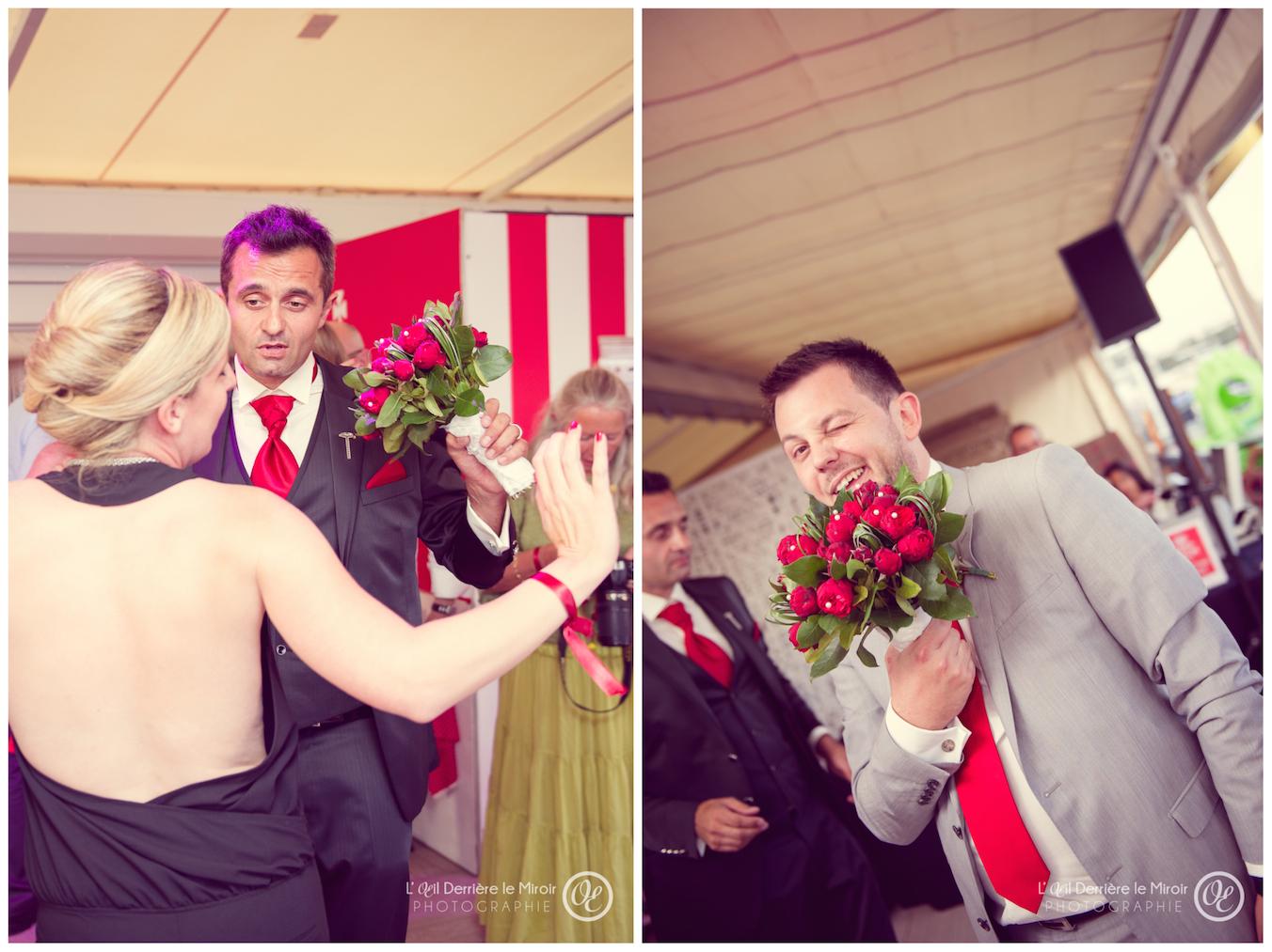 Photographe mariage la mandala Cannes  L'OEil Derrière le Miroir