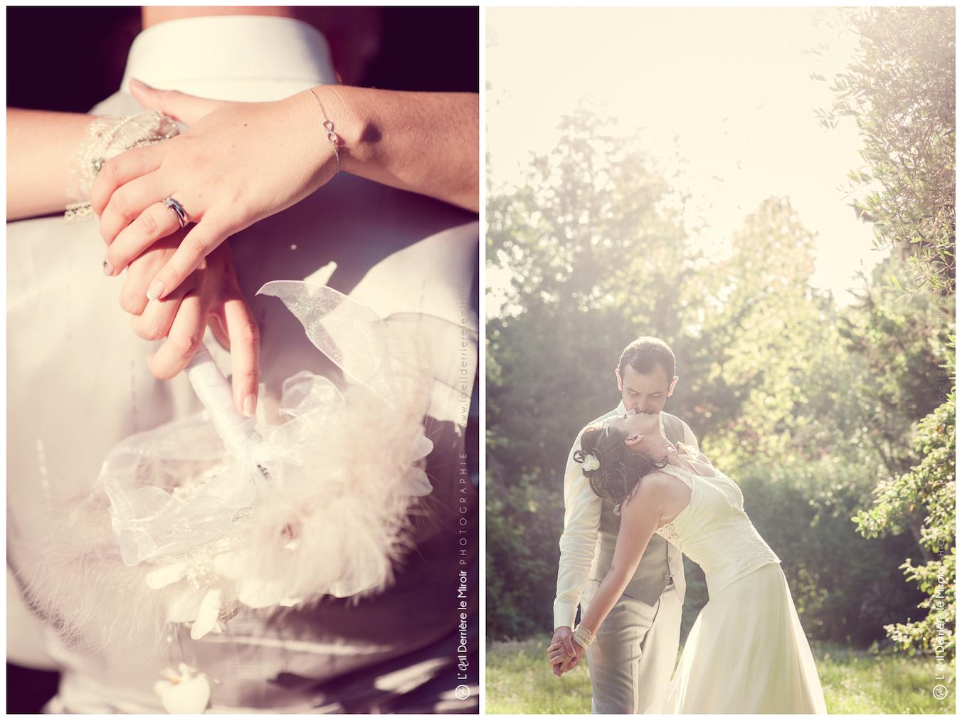 Mariage au Park Lenotre à mougins par L'OEil Derrière le Miroir Photographe de mariage professionnel