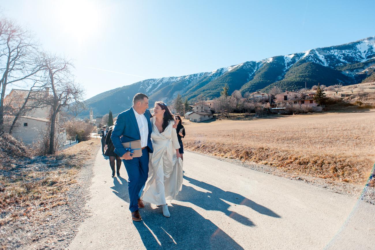 Photographe de mariage Alpes de Haute provence