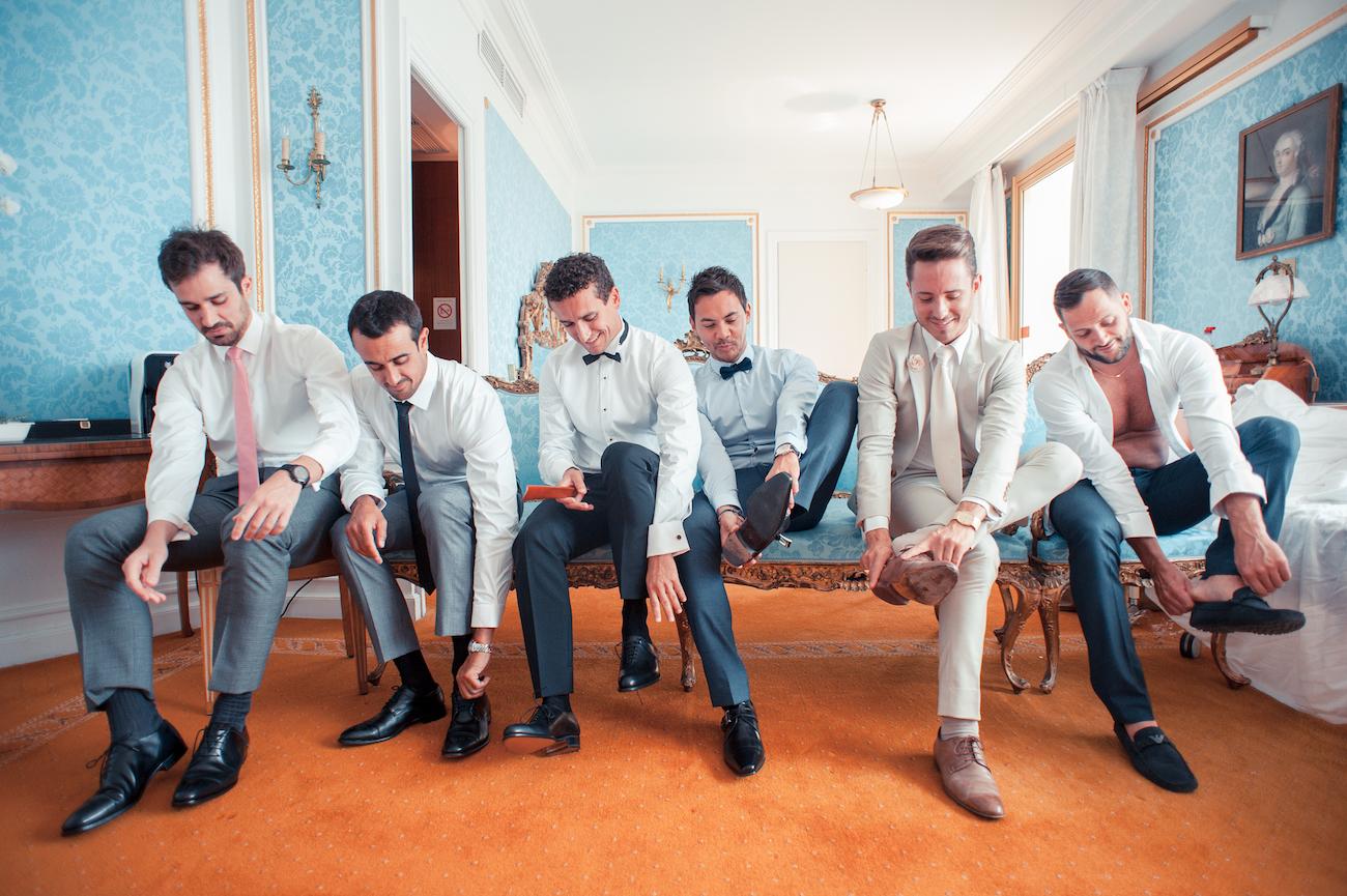 Préparatifs du marié, Photo de Mariage au Negresco Nice par L'Œil Derrière le Miroir Photographe de Mariage